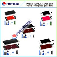 LCD Display touch screen replacements for iphone 4 4s 5 5s 5...