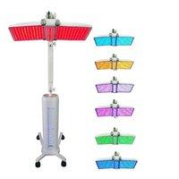 강력한 PDT 라이트 테라피 LED 기계 주름 및 여드름 제거 7 컬러 광자 LED 피부 젊 어 짐