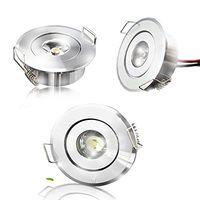 천장 조명 1W LED 쿨 따뜻한 흰색 캐비닛 빛 통 자점 램프 전구 85-265V