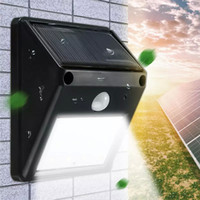 Disponibile 12 20 LED Solar Light Outdoor Powered Wireless PIR Sensore di movimento LED Solar 20led Lampada da giardino impermeabile paesaggio prato Lampade da parete