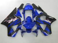 Kit de carenagem de plástico ABS para Honda CBR900RR 02 03 carenagem de preto azul CBR 954RR 2002 2003 OT20
