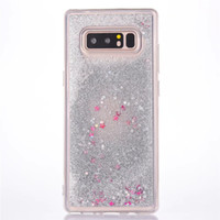 Fashion Transparent Fun Glitter Star Quicksand Liquid Phone ...