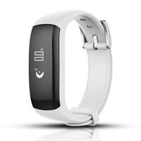 JSK P6 Smart-Sport-Armband Sleeping-Monitor-Armband mit Call / SMS Reminder, Stufen-Zähler für Android und IOS-System