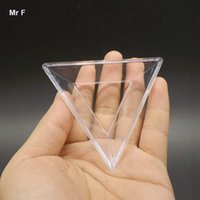 Effacer Magic Cube Cadre Accessoris Triangle Titulaire Base Style Puzzle Enfants Cadeaux Simple Éducatif Prop Noël