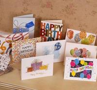 달콤한 당신을 위해 사랑스러운 생일 축하합니다 감사합니다 호의 선물 카드 인사말 크리스마스 인쇄 된 카드 / 키즈 선물 무료 배송