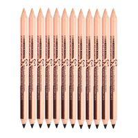 새로운 뜨거운 48pcs / lot maquiagem 눈이 마노 메노우 메이크업 더블 기능 눈썹 연필 Concealer 연필 maquillaje