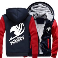 Men Women Anime Fairy Tail Cosplay Jacket Sweatshirts Thicke...