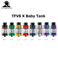 Authentique SMOK TFV8 X-Baby Tank 4ml Sub Ohm Vape Atomizer Top Recharge Baby Beast Brother Tank Fit pour Stick V8 T-pri Mod 2218088