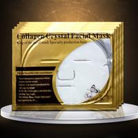 Collagen Cristal Masques faciaux de la peau Soins de la peau Hydratant Huile Contrôle anti-rides Pore Cleaner Hydra Visage Masques Blanc 60g