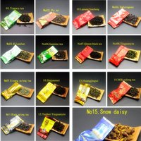 15 different flavors of Chinese tea, including Dahongpao, oolo...