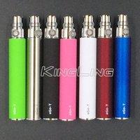 EGO Batterie für Elektronische Zigarette E-cig Ego-T Vape Stift 510 Gewinde match CE4 zerstäuber CE5 clearomizer 650 mah 900 mah 1100 mah 1300 mah