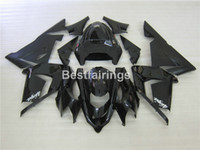 Kit carenado para carenados negros mate Kawasaki Ninja ZX10R 04 05 ZX10R 2004 2005 YT04