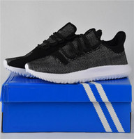 2017 Cheap Tubular Shadow Knit Running Shoes for men and wom...