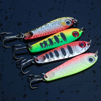 4pcs of Metal Fishing Spoon Lure Jigging Bait Hard Lure Pesc...