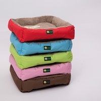 Candy color pretty attractive soft warm pet dog bed mat for ...