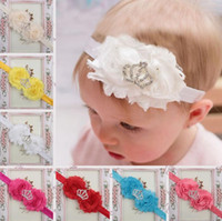 Brand new Children hair band heart sun flower with diamond c...