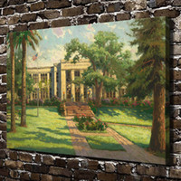 HD Printed Thomas Kinkade Oil Painting Home Decoration Wall ...