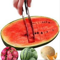Melancia Slicer Descascador De Frutas Em Aço Inoxidável Útil Gadget Cozinha Inteligente