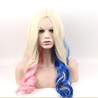 Hair High Temperature Fiber Cosplay Party Wigs Harley Quinn ...