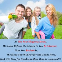 Wholesale- As The Post Shipping Delay, We Have Refund the Mo...