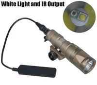 Тактические СФ M300V-ИК-разведчик свет LED пистолет свет белый свет и ИК-выход