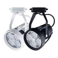 LED 크리 어 트랙 조명 35W 가로등 스포트 라이트 의류 신발 숍 실내 조명 110V 220V 따뜻한 / 차가운 / 자연 흰색 CE UL