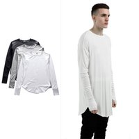 Hip- hop style Long sleeve T shirt men New Fashion Plain Basi...
