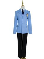 Malidaike Anime Ouran High School Host Club Menino Terno Top Blazer Uniforme Cosplay Unisex Custume-made Uniforme