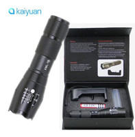 60pcs LED Flashlight Ultrafire 2000 Lumens Zoom Adjustable C...