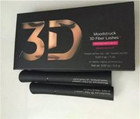 Hot 1030 3D Fiber Lashes Plus MASCARA Set Makeup lash eyelash double mascara Free shipping 48pcs=24sets A08