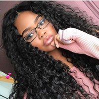 Curly Lace Front Virgin Human Hair Wigs Brazilian Full Lace ...