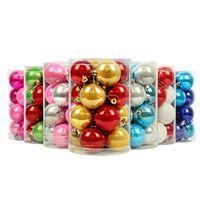 Рождественские украшения пакет мяч 10 см Рождество свет шары баррелей жемчужина мяч