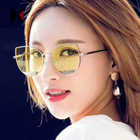 ALOZ MICC Fashion Women Cat Eye Pink Mirror Sunglasses Brand...