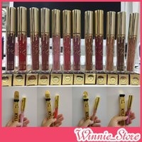 Factory Direct DHL Free Shipping Kylie Jenner Matte Gold Liq...