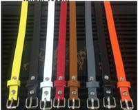 Vendita calda di estate Fibbia liscia degli uomini Cintura con fibbia ad ardiglione Pelle sintetica dell'unità di elaborazione pantaloni 8 colori donna moda snella Cintura in pelle spedizione gratuita