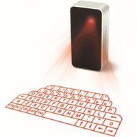 10 قطع البسيطة اللاسلكية الليزر الإسقاط لوحة المفاتيح المحمولة لوحة مفاتيح الليزر بلوتوث الظاهري مع ماوس وظيفة لالروبوت اي فون الكمبيوتر المحمول