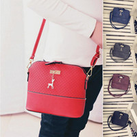 Women Fashion Crossbody bag Hobo PU Leather Shoulder Bag Mes...