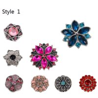 Hot Sale Noosa Sale Mix Snap Buttons50pcs 100pcs 500pcs 1000...