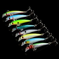 8- color 5cm 2. 9g Minnow Plastic Hard Baits & Lures Fishing H...