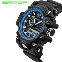 Mens Watches 2019 SANDA Fashion Watch Men G Style Waterproof...