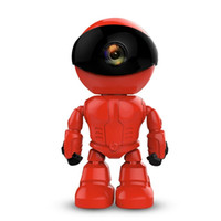 Cámara IP inalámbrica de 720P 1.0MP HD wi-fi Cámara robot Wifi Visión nocturna Cámara IP Cámara de red CCTV compatible con audio de dos vías