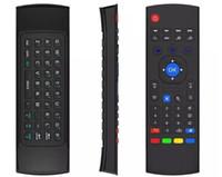 10 قطع x 8 m8s t2 t3 لا ميكروفون البسيطة 2.4 جيجا هرتز الجيروسكوب اللاسلكية الهواء الماوس النائية g- الاستشعار الجيروسكوب ل mxq stb الروبوت tv box