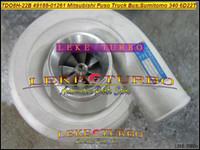TD08H TDO8H-22B 49188-01261 Turbo Turbocompresor para Mitsubishi Fuso Truck Bus 6D22T para SUMITOMO 340 Diverso motor 6D22T 6D22T3
