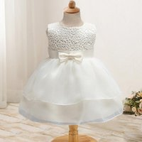 Newborn Girl Dress Beautiful Christening Gown White First Bi...