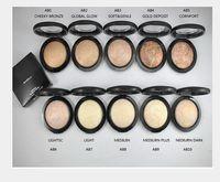KOSTENLOSER VERSAND! 2018 NEUE hochwertige Make-up MINERALISIEREN SKINFINISH POUDRE DE FINITION 10G 10 verschiedene farbe (50 teile / los)