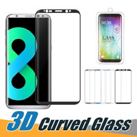 For iPhone 8 Curved Tempered Glass Full Screen Protector Tem...