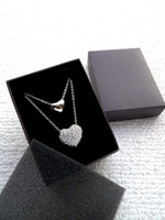 High- end jewelry boxes Fashion Dark Brown Necklace Packing B...