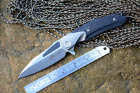 Kevin John VENOM knife ATTACKER M390 blade Knife Titanium Ca...