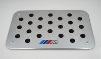 Für BMW M3 M5 Z4 X5X6 F10 F30 E46 E52 E60 E70 E87 E90 1 2 3 4 5 6 7 Series Universal Boden Teppichmatten Pedalauflagen Fußrastenplatte
