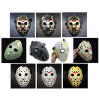 Or Vintage Party Masks Dédié Jason Voorhees Freddy Festival De Hockey Halloween Masquerade Masque Livraison Gratuite 170908